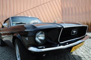 Mustang bez kierowcy